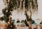Floral Canopies Wedding Venue Decoration
