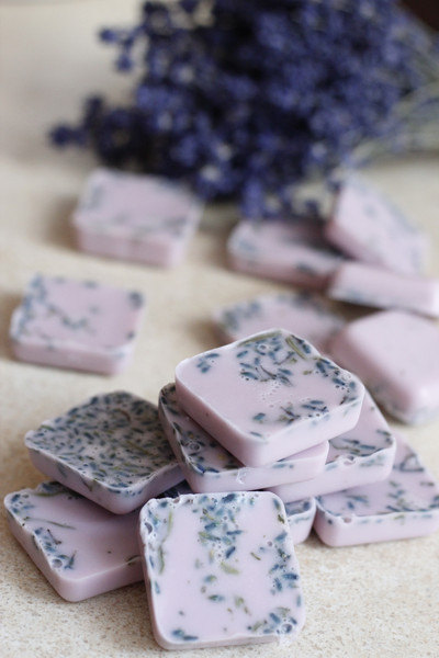 Lavender Soap Mini Wedding Favours