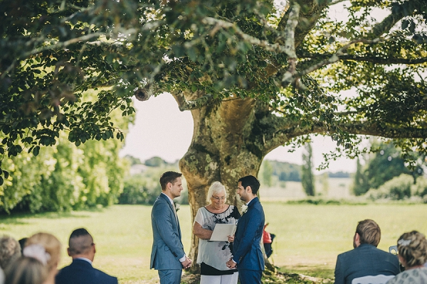 Le Chateau Charmant outdoor wedding