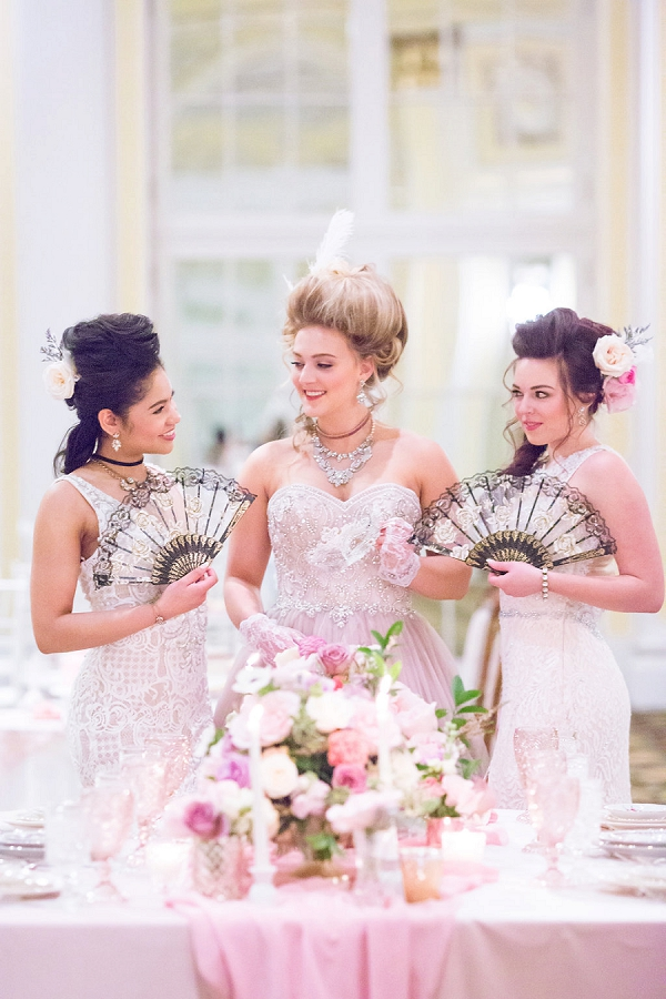 Marie Antoinette inspired tea party