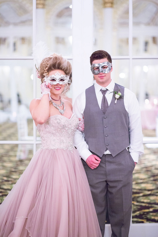 Masquerade wedding ideas
