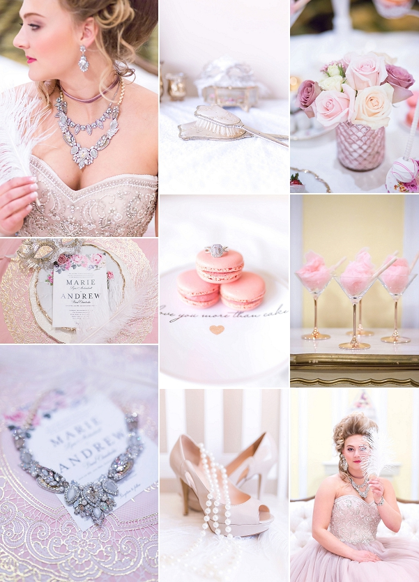 Pink Extravaganza French Wedding Styled Shoot Snapshot