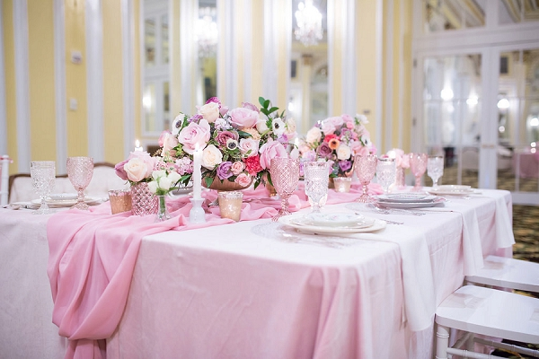 Pink Extravaganza French Wedding