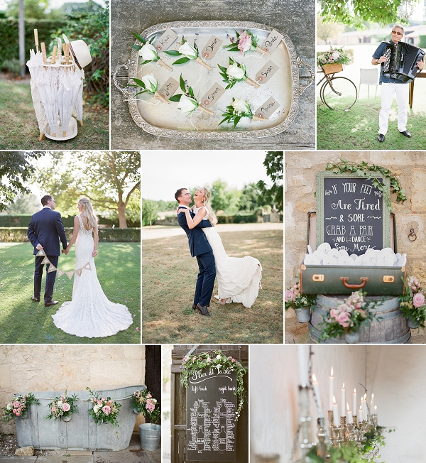 Pinterest Worthy Wedding at Chateau Rigaud Snapshot