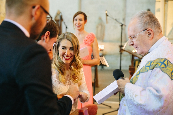 Saint Emilion wedding ceremony