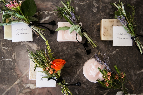Soap wedding favour ideas