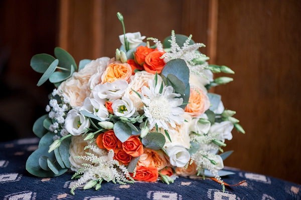 Toulouse bridal bouquet