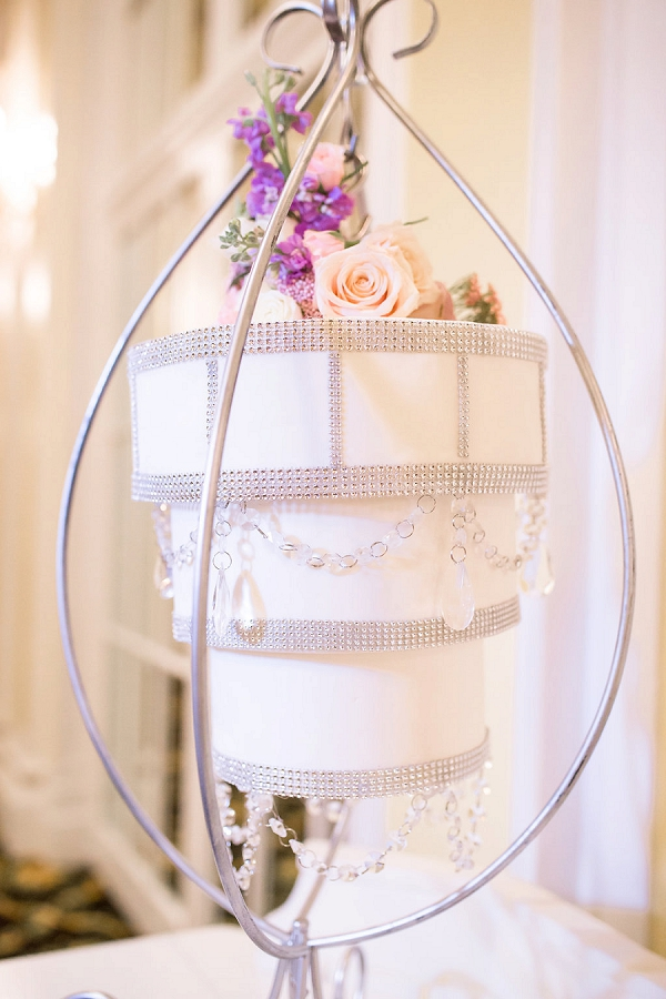 chandelier wedding cake