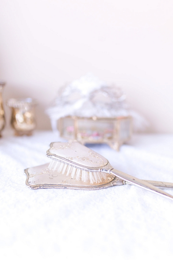 french inspired bridal details
