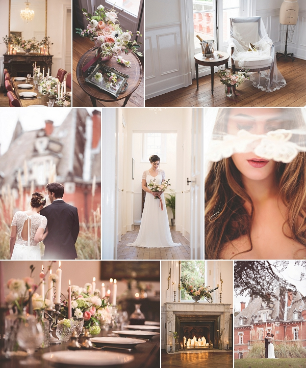 Chateau Saint Michel Wedding Inspiration Shoot Snapshot