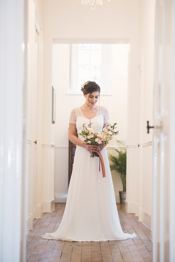 Chateau Saint Michel bridal portrait