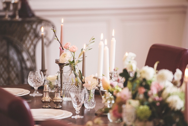 Crystal and silver table wear