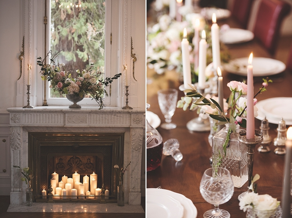 Elegant wedding styling