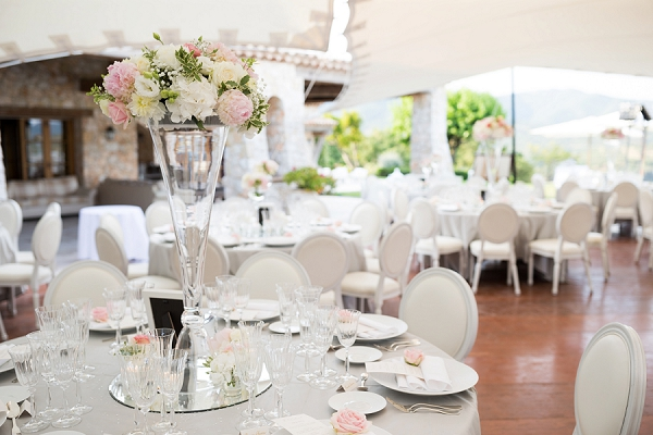 elegant wedding reception decor