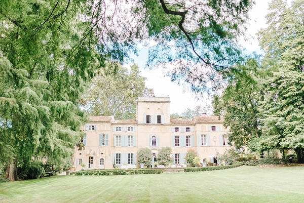 french chateau wedding venue