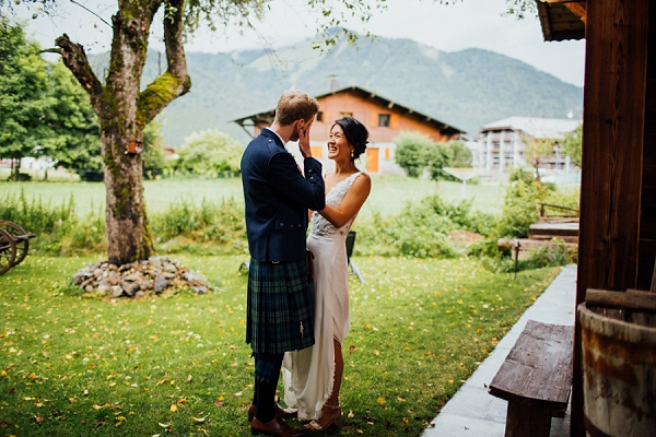 tartan inspired wedding