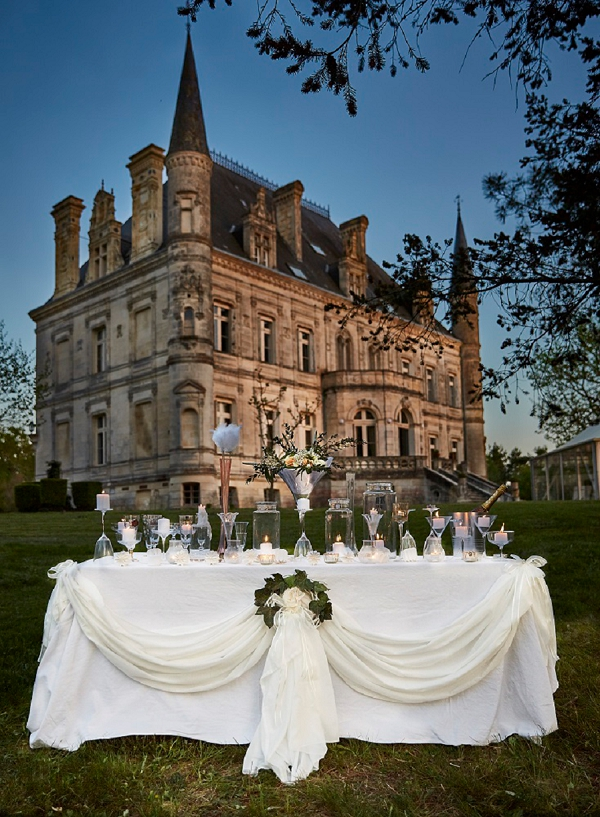 18th Century Chateau For South West France Wedding Shoot