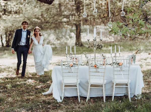 18th Century Chateau wedding inspiration