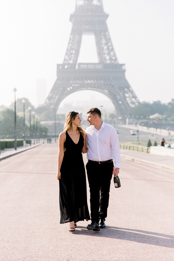 Black Tie Paris Wedding Anniversary Shoot