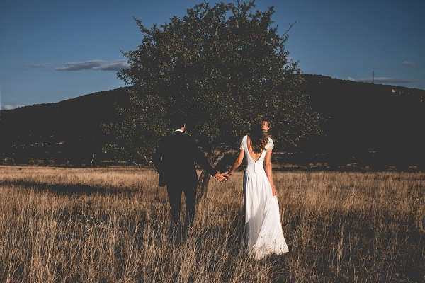 Countryside wedding photography