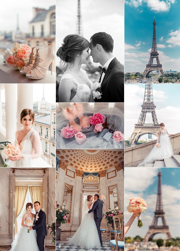 Romantic Laperouse Paris Real Wedding Snapshot