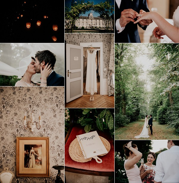 Rustic Countryside Chateau D'Aveny Wedding Snapshot