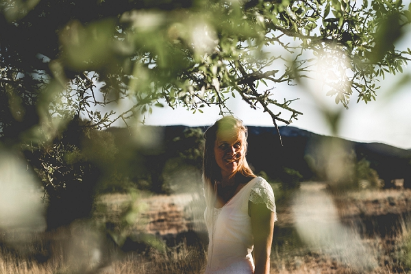 South of France bridal portraits