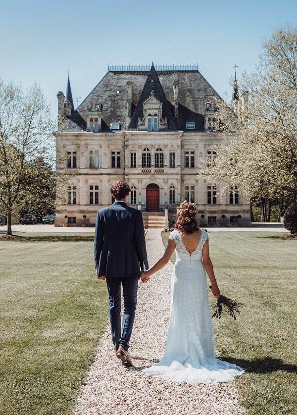 french chateau wedding styled shoot