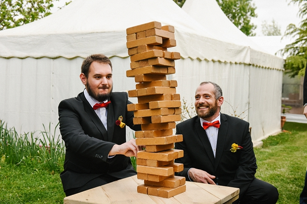 jenga wedding game