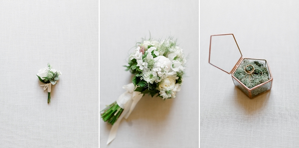 neutral wedding details