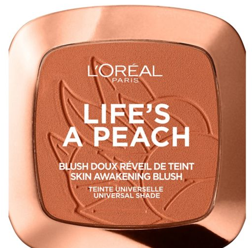 peach blush powder