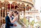 romantic paris wedding photography