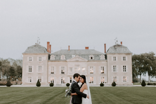 Château de Varennes real wedding | Image by Grace Elizabeth Photo & Film