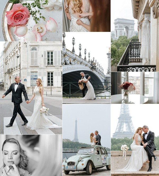 Chic Destination Paris Elopement Snapshot