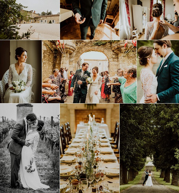 DIY Chateau de Mons Real Wedding Snapshot