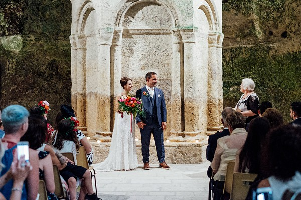 Dordogne wedding ceremony
