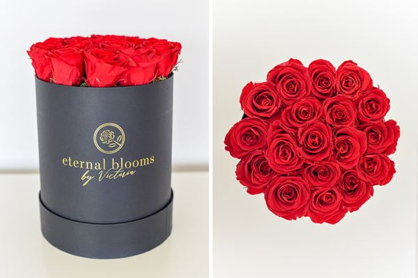 Luxury Wedding Favours Red Roses
