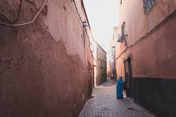 Quaint Moroccan streets