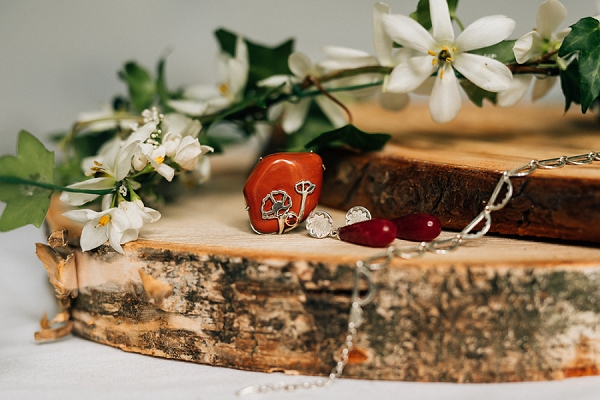 Ruby wedding details