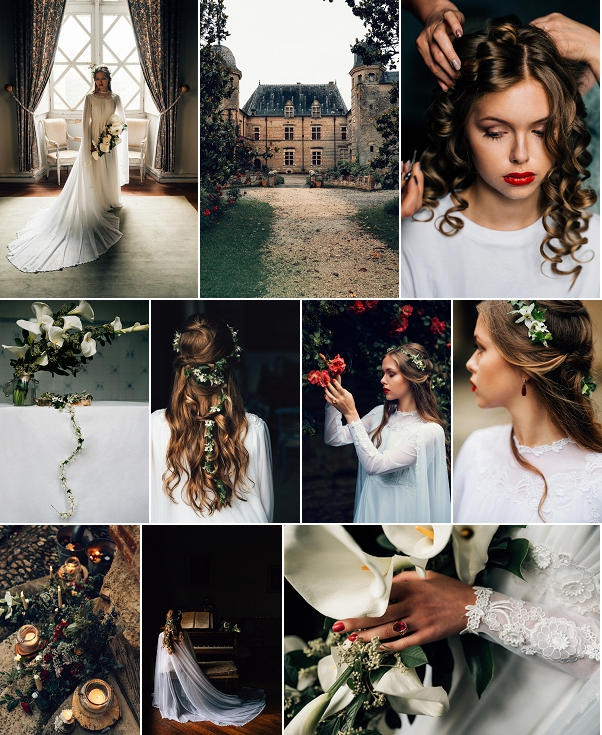 Sentimental Chateau de Caumont Wedding Inspiration Snapshot