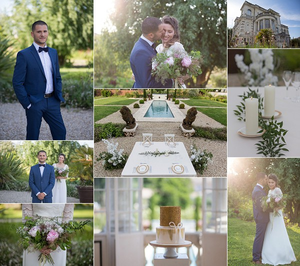 South West France Chateau Mader Wedding Inspiration Snapshot