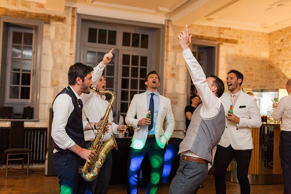 South of France wedding saxophonist