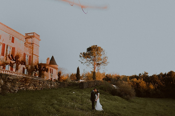 Spring Bordeaux wedding
