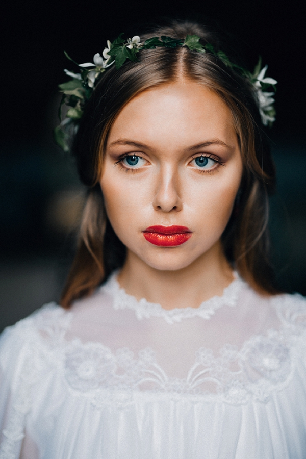 Subtle wedding makeup