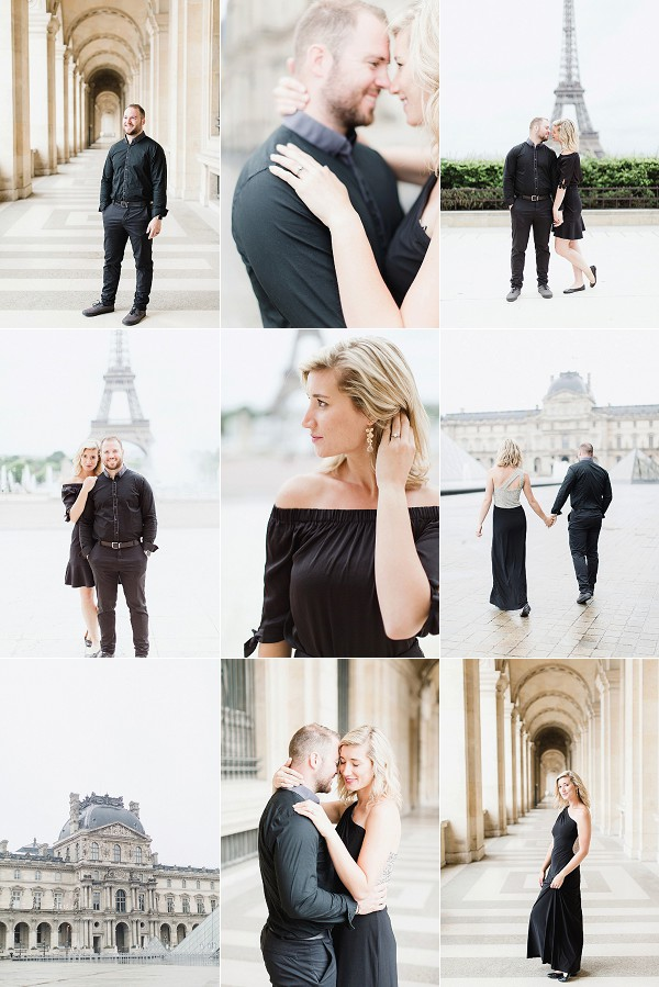 Third Year Wedding Anniversary in Paris Snapshot
