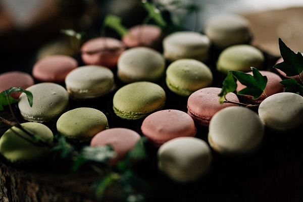 Wedding day macaroons