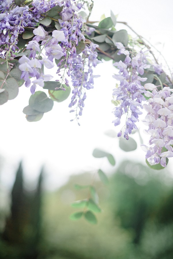 Wisteria Inspired Wedding