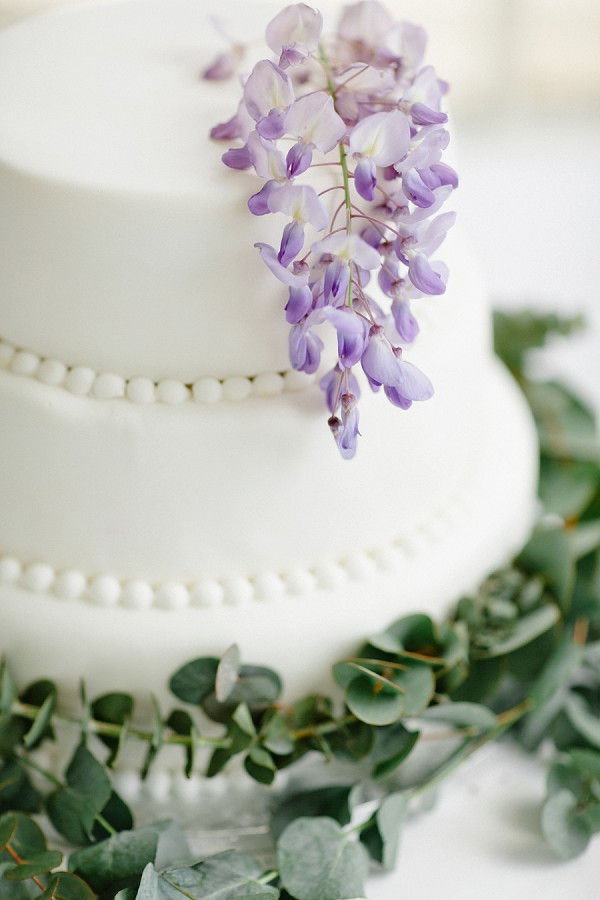 Wisteria Inspired Wedding Decor