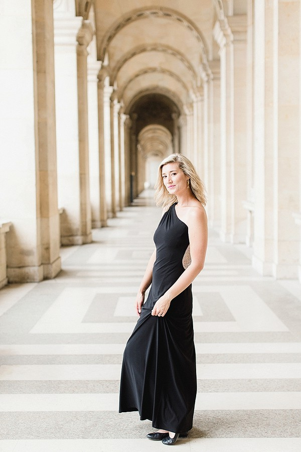 black tie inspired dress paris