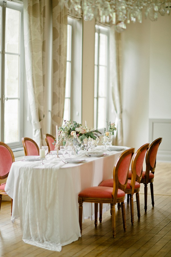 elegant wedding breakfast